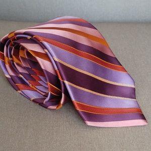 Ted Baker Purple Lavender Multi Color Tie